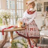 MoiMoiHoney -Strawberry Ranch- Sweet Lolita OP Dress