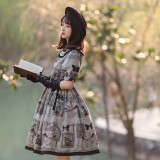 Withpuji -The Witch Oracle- Casual Lolita OP Dress