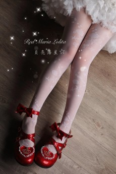 Red Maria -Lolita Tights for Summer