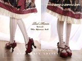 Red Maria -Caracal Cat Lolita Tights for Spring and Autumn
