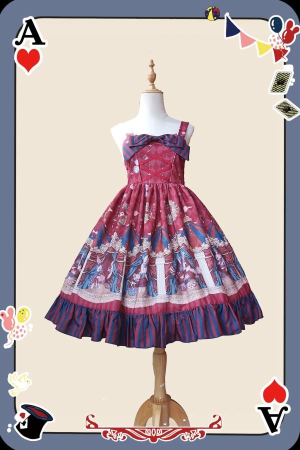 Infanta -The Circus- Sweet Christmas Lolita JSK