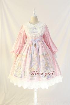 Alice Girl -Angel Handle- Sweet Lolita OP Dress