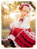 Mofina -The Cranberry- Sweet Lolita Skirt