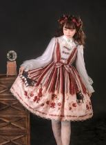 Krncrlo -To Alice- Sweet Lolita JSK and Skirt