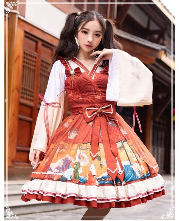Yinluofu -Fantastic World- Wa Lolita JSK Version I