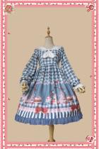 Infanta -Picnic with Rabbit- Sweet High Waist Lolita OP