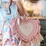 Lovely Lota -Sweet Candy- Lolita Crossbody Shoulder Bag