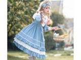 Eieyomi -Miss Rabbit LoLo- Sweet Lolita OP Dress