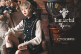 Immortal Thorn -Eternal Agreement- Ouji Lolita Topwear and Matched Shorts