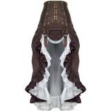 Steam Punk High Waist Lolita Skirt
