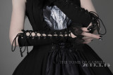 Foxtrot Lolita -The Tomb of Gabriel- Halloween Gothic Long Wristcuffs