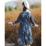 Withpuji -Mr Rabbit- Casual Lolita Coat OP Dress