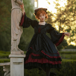 Withpuji -The Hecate- Gothic Lolita OP Dress