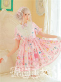 Strawberry Witch -Blueberry Fruits- Sweet Lolita OP Dress