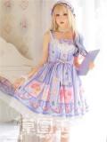 Strawberry Witch -Blueberry Fruits- Sweet Lolita JSK