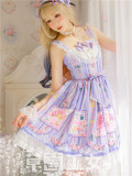 Strawberry Witch -Blueberry Fruits- Sweet Lolita JSK