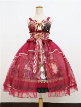 Sweety Honey -Devils Night- Wa Lolita JSK