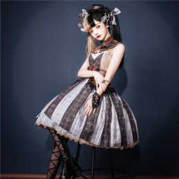 Neo Ludwig -Tea Ceremony- Punk Lolita JSK