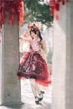 Sweety Honey -Devils Night- Wa Lolita Full Set