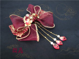 Sweety Honey -Devils Night- Wa Lolita Accessories
