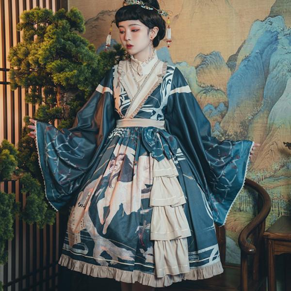 Shirasawa Qi Lolita OP Dress
