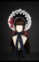 Snow White Lolita Bonnet