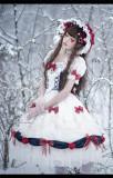 Snow White Princess Lolita OP Dress and Headband Set