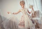 Milu Forest -Swan Wedding- Lolita Headbow and Wristcuffs