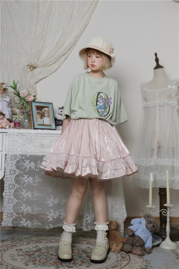 Labeau -Isabella- Casual Lolita Skirt