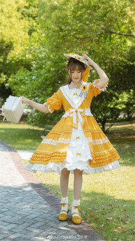 Alice Girl -Sunflower- Classic Lolita OP Dress