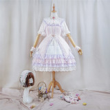 Polyhymnia -Woven star- Classic Lolita Full Set(Version II)