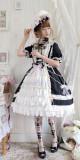 LP -Pipe Dream- Classic Lolita OP Dress Full Set