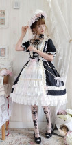 LP -Pipe Dream- Classic Lolita OP Dress Full Set
