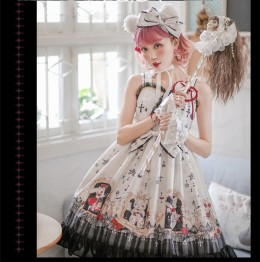 Sweety Honey -Crazy Rabbit- Sweet Lolita JSK and Headbow