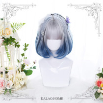 Dalao -Strawberry Bear- Short Straight Lolita Wig