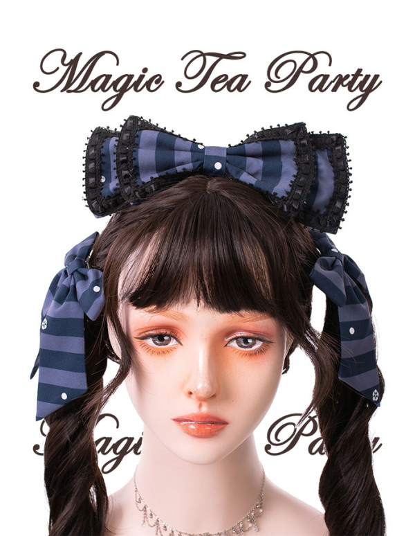 Magic Tea Party -Garden Restaurant- Lolita Headbow and Hairclip