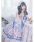 Yinluofu -Afternoon Cat- Lolita OP Full Set