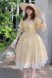 Ruby Rabbit -Summer Wind- Classic Casual Lolita OP Dress