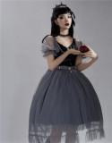 The Dying Swan Elegant Gothic Lolita OP Dress