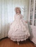 Henrietta -Moonlight Of Britain- Tea Party Princess Rococo Lolita OP Dress