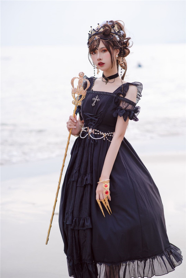 Neverland -The City of Sin- Lolita OP Dress