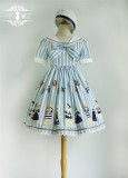 Miss Point -Sailor Rabbit- Sailor Lolita OP Dress