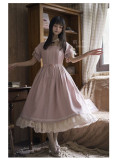 Mystery Maiden Classic Vintage Casual Lolita OP Dress