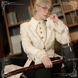 Immortal Thorn -Flower in the Wind- Ouji Prince Long Lolita Jacket