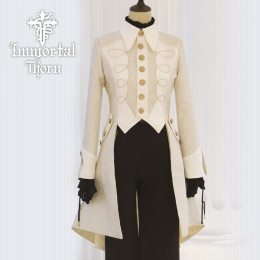 Immortal Thorn -Flower in the Wind- Ouji Prince Long Lolita Jacket