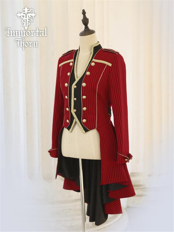 Immortal Thorn -The Oath- Ouji Prince Military Lolita Jacket