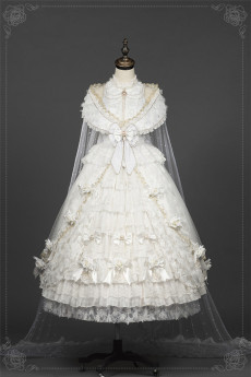 Helena Gorgeous Tear Party Princess Wedding Lolita JSK Dress Set
