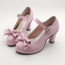 Antaina - Sweet Round Toe Heel Lolita Shoes
