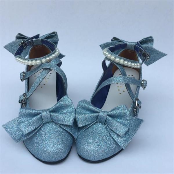 Antaina - Sweet Princess Round Toe Lolita Heel Shoes