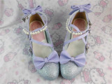 Antaina - Sweet Princess Round Toe Lolita Heel Shoes